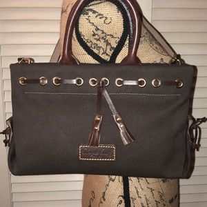 Dooney and Bourke Small Convertible Tassel Tote